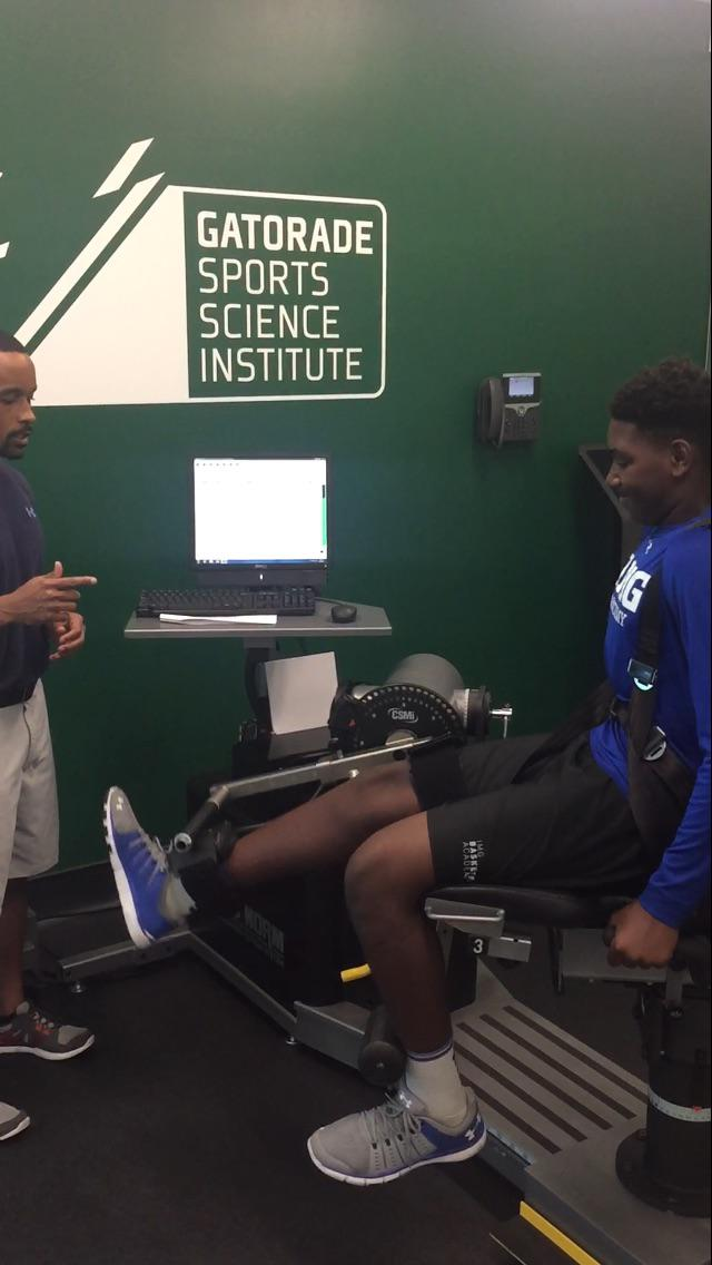 Eric Goes To The Gatorade Sports Science Institute